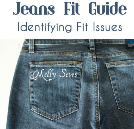 Tutorial: Identifying jeans fit issues