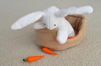 Tutorial: Spring Bunny softie