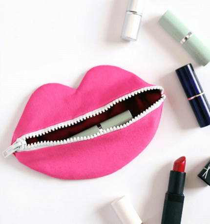 Tutorial: Zip Your Lips Pouch