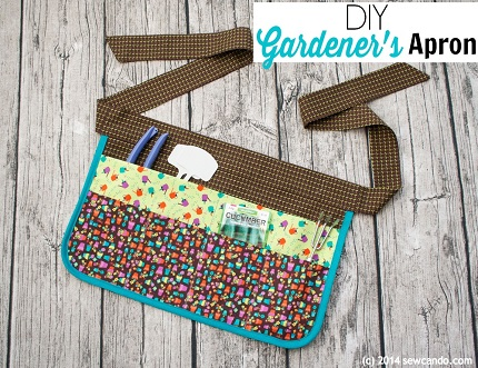 Tutorial: Gardener's apron with lots of pockets