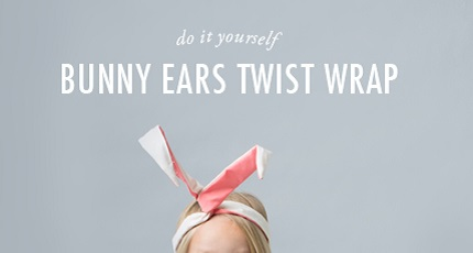 Tutorial: Wired bunny ears head wrap