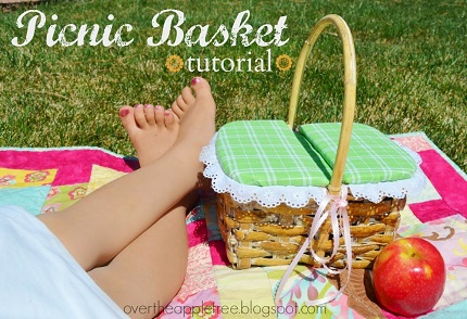 Tutorial: Lidded picnic basket