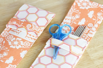 Tutorial: Knitting needle or pencil pouch