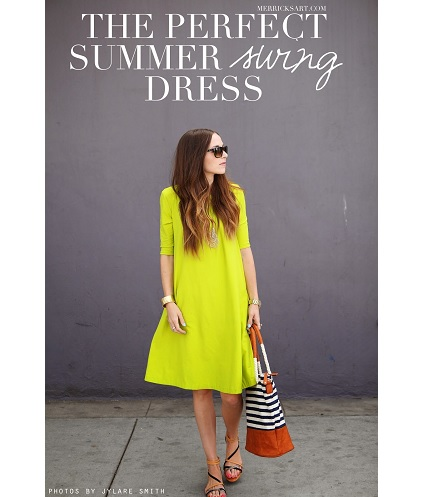 Tutorial: Perfect Summer Swing Dress