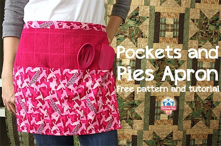 Tutorial: Pockets and Pies Apron
