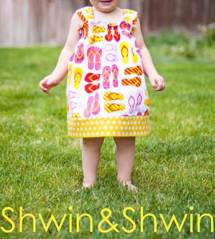 Tutorial: Sunny Days little girl dress