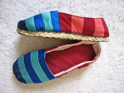 Tutorial: Make a pair of espadrilles