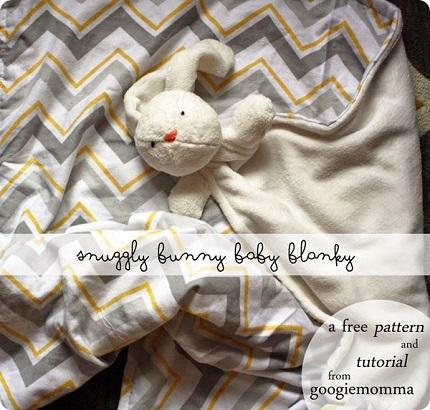 Tutorial: Snuggly Bunny Baby Blanky