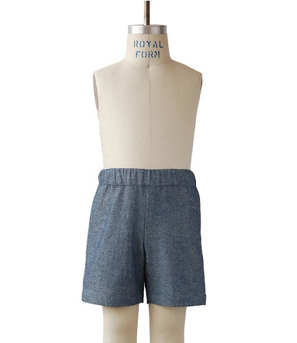 Free pattern: Sunny Day Shorts for kids