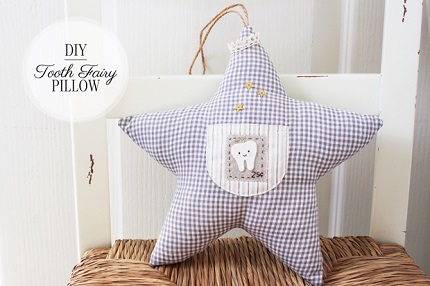 Tutorial: Twinkle Star Tooth Fairy Pillow