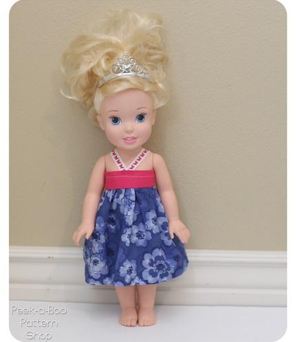 """Tutorial: 15"""" doll sundress"""