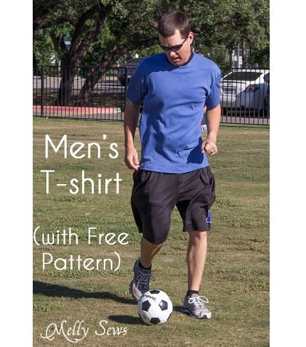Free pattern: Men's basic t-shirt