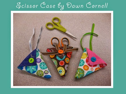 Tutorial: Quilted scissors case