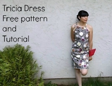 Free pattern: Tricia easy summer dress – Sewing