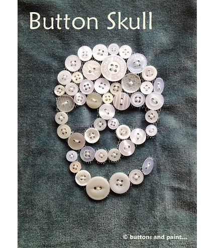 Tutorial: Button skull embellishment