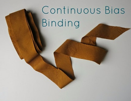 Tutorial: Continous bias binding, the fast way to make long bias strips