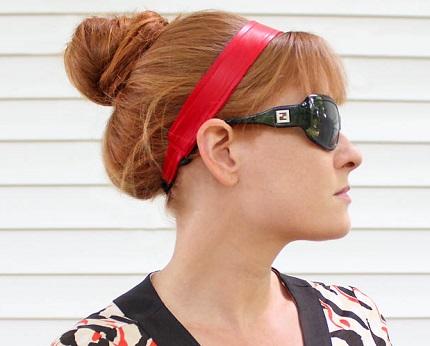 Tutorial: Leather headband