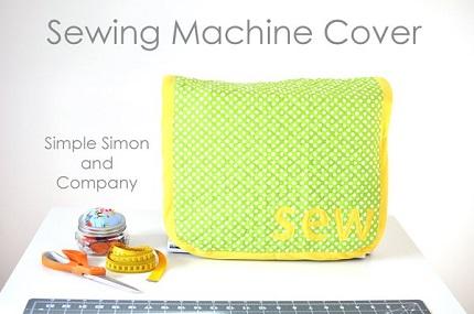 Tutorial: 15 minute sewing machine cover