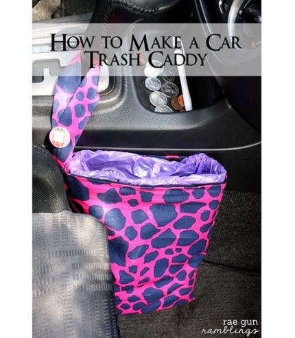 Tutorial: Car travel trash bag