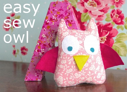 Tutorial: Easy sew owl softie that kids can make – Sewing