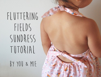 Tutorial: Fluttering Fields sundress for little girls