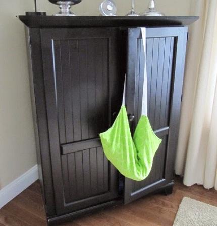 Tutorial: Hobo beach bag that doubles as a sunbathing towel
