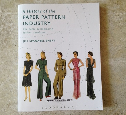 Review and giveaway: A History of the Paper Pattern Industry