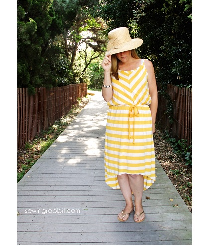 Tutorial: Easy knit sundress with a lining
