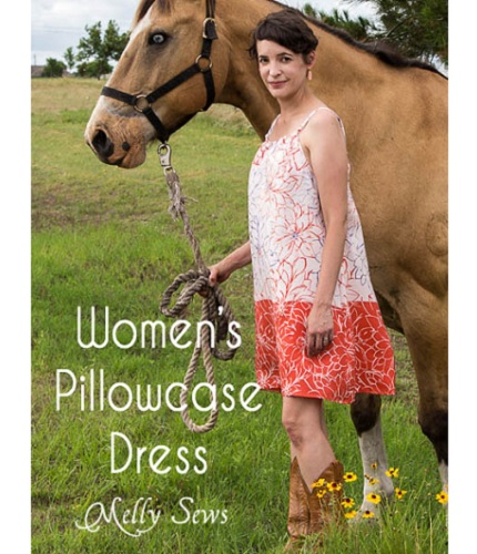 Tutorial: Women's pillowcase dress, plus advice to make it flatter a woman's shape
