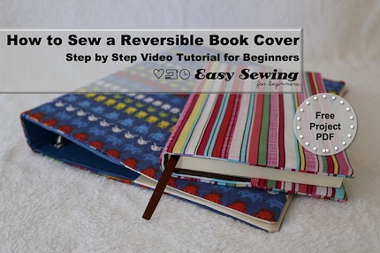 Tutorial: Reversible book or journal cover