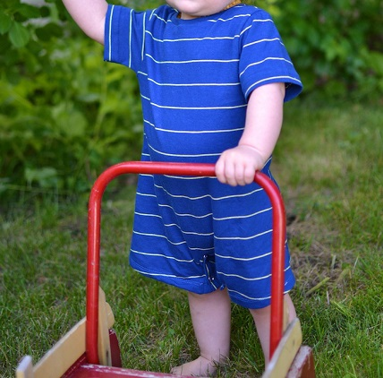 Free pattern: Simply Summer Romper for a baby