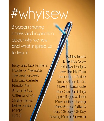 #whyisew series to share our sewing journeys