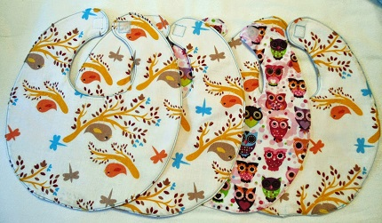 Free pattern: Simple baby bib