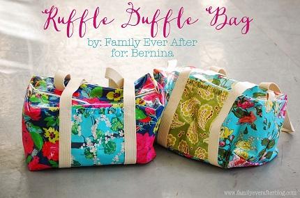 Tutorial: Ruffle Duffel Bag
