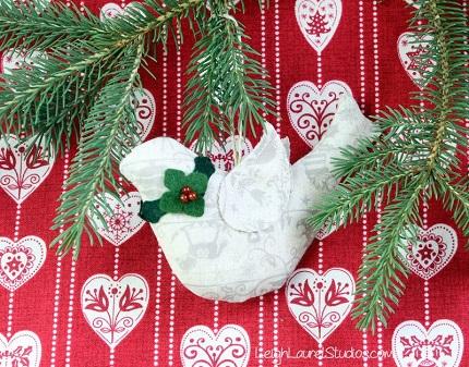 Tutorial: Christmas bird ornament