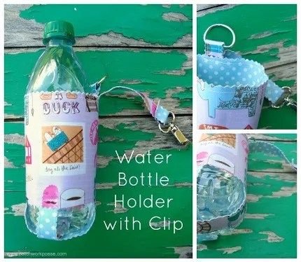Tutorial: Water bottle holder with clip