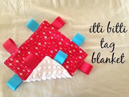 Tutorial: Itti Bitti Tag Blanket