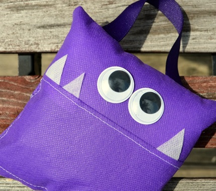 Tutorial: Little monster tooth fairy pillow