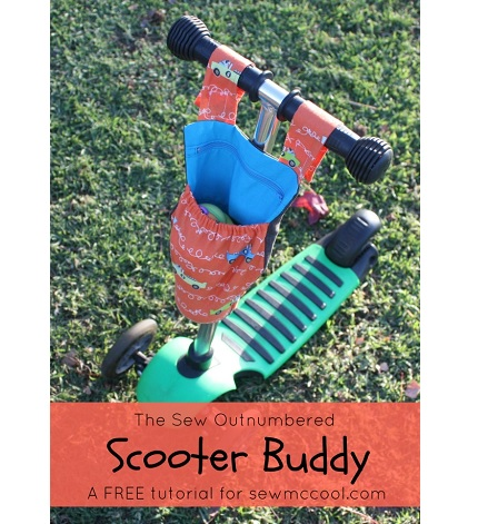 Tutorial: Scooter Buddy Pouch