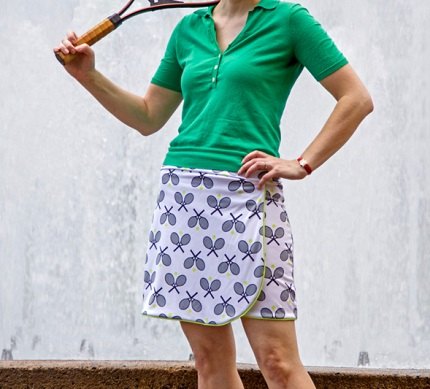 Tutorial: How to make a tennis skirt
