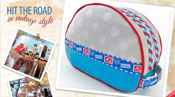 Tutorial: Vintage camper toiletry bag
