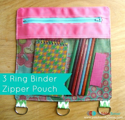 Binder-Zipper-Pouch
