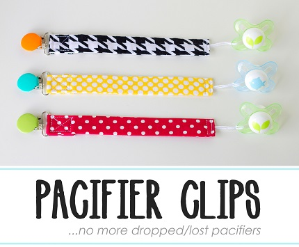 Tutorial: How to make pacifier clips