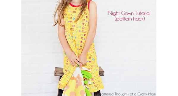 Tutorial: Little girl's nightgown