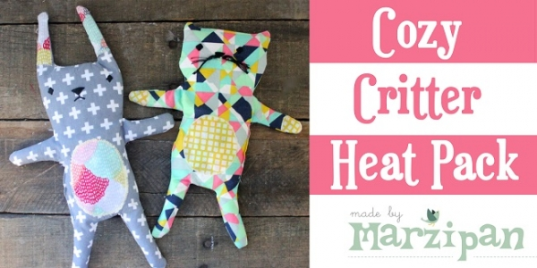 Free pattern: Cozy Critter Heat Packs