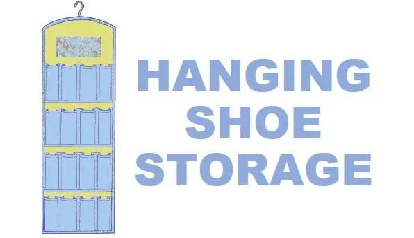 Free pattern: Hanging shoe organizer