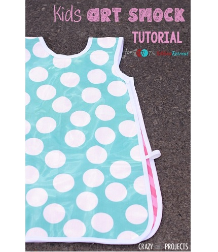 Tutorial: Kids vinyl art smock