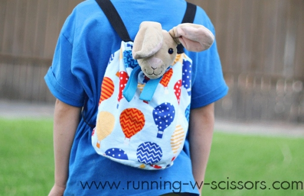 Tutorial: Stuffed animal backpack