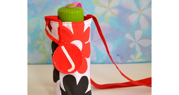 Tutorial: Water bottle tote