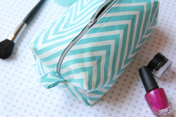 Tutorial: Boxy cosmetic bag
